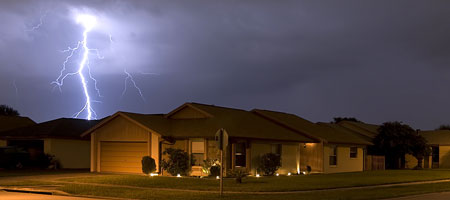 bigstock_House_Lightning_4829269